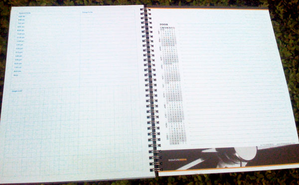 Signature Media Calendar Journal Notes Pages