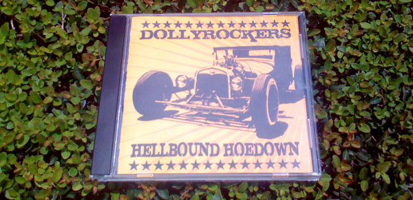 Dollyrockers CD Cover Printed