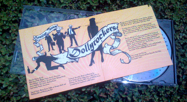 Dollyrockers CD Insert Opened