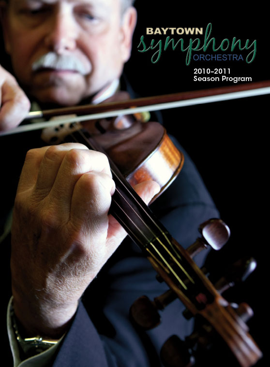 Baytown Symphony Orchestra 2010-2011 Season Program Front Cover